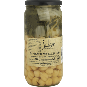 Garbanzos Acelga al Natural Extra