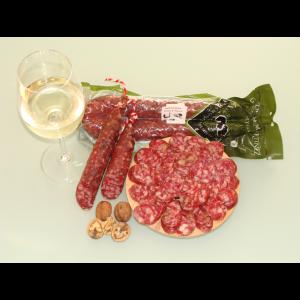 Salchichón Artesano con Vino y Nueces