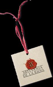 Etiqueta Artesanía de La Rioja