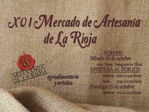 XVI edición del Mercado de Artesanía de La Rioja