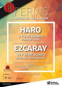 Cartel Ferias Artesanía 2018