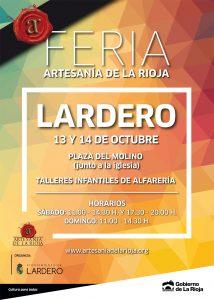Cartel Feria Artesanía Lardero 2018
