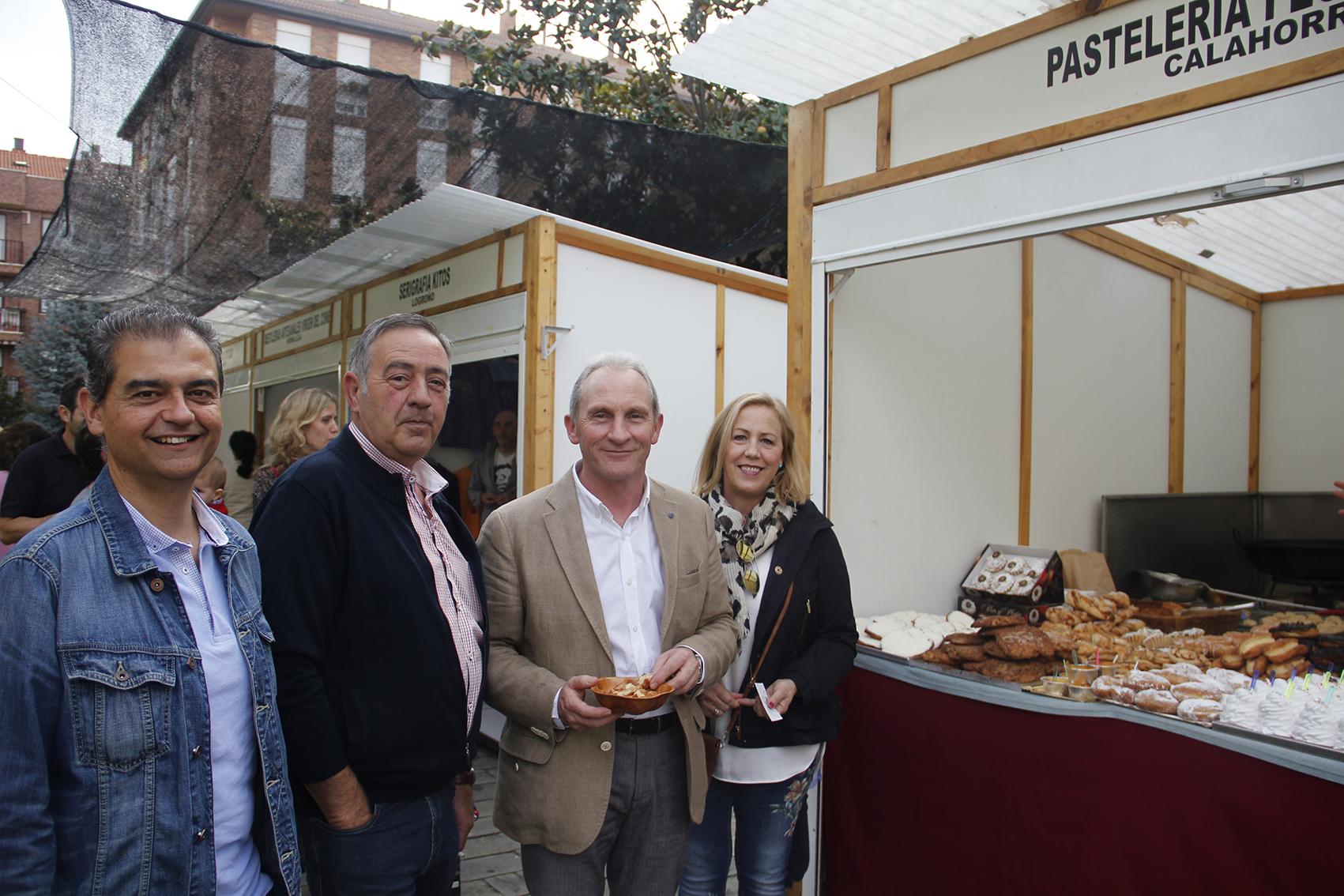 Inauguración de la Feria de Artesanía de La Rioja de Lardero