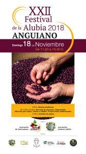 Cartel XXII Festival de la Alubia de Anguiano