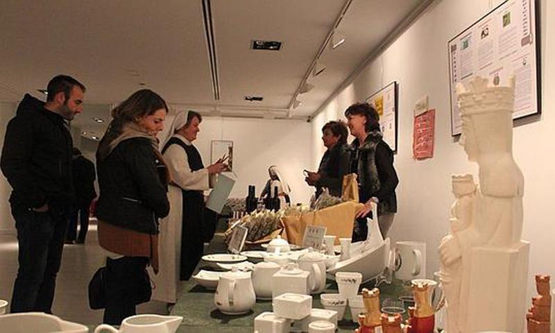 'Ora et labora'. Exposición de los productos artesanos, elaborados por las monjas del Monasterio Cisterciense de Vico