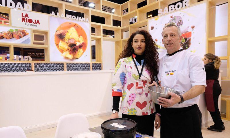 Pastelería Flor y Nata ha realizado talleres para niños en FITUR