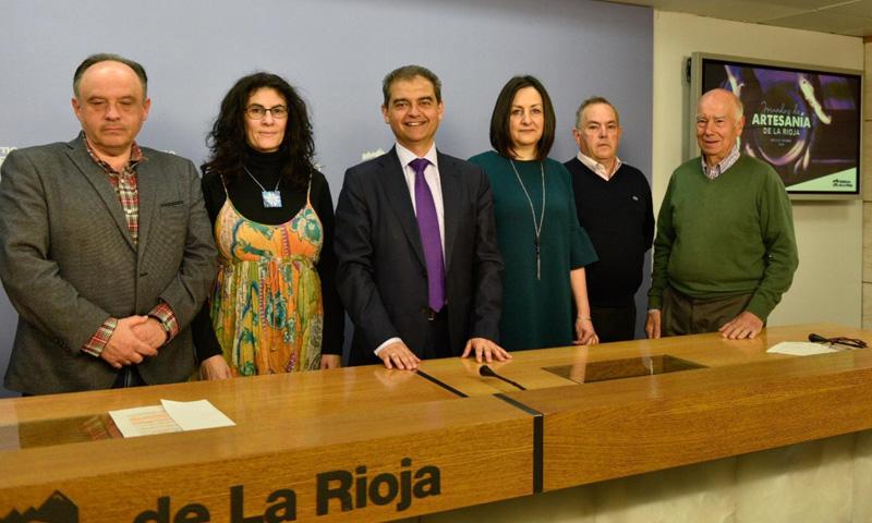 Las Jornadas de Artesanía de La Rioja acercarán al público nuestro patrimonio cultural artesano durante los días 5, 6 y 7 de abril en el edificio Calado