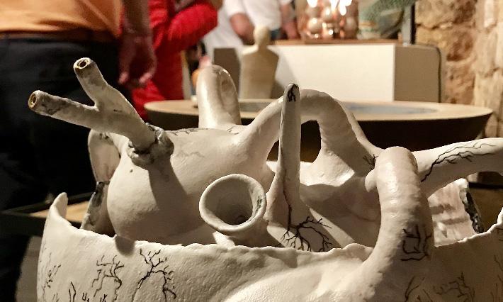 La cerámica estadounidense, protagonista de la Feria de Navarrete
