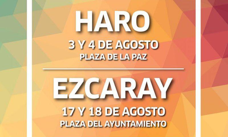 Ferias de Artesanía Riojana en Haro y Ezcaray