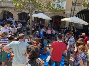 Feria de Artesanía de Haro - Taller de alfarería Hermanos Fajardo.