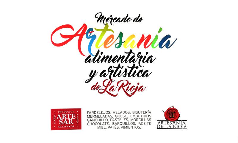 Mercado de artesanía alimentaria y artística de La Rioja en San Mateo