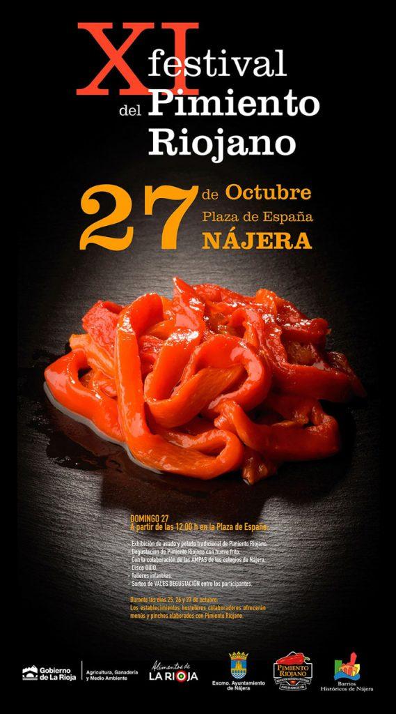 Nájera acoge el Festival del Pimiento Riojano