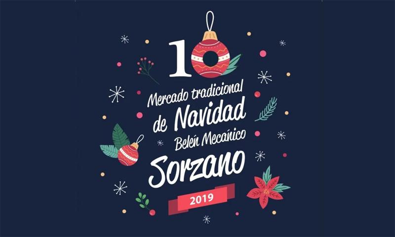 Mercado Artesanal de Navidad y Belén Mecánico de Sorzano
