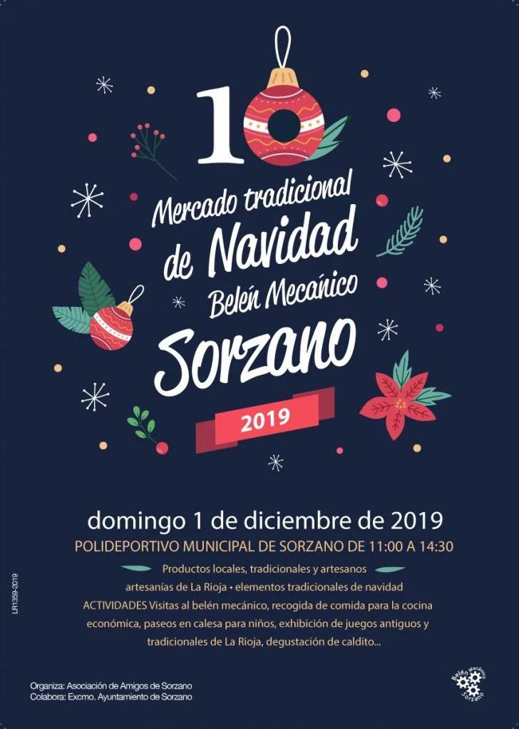 Mercado de Navidad y Belén Mecánico de Sorzano